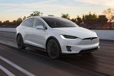 Running Tesla Model X