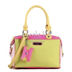SUZY'S ADELE COLORBLOCK JELLY #nicolelee #handbag #jellybag