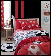 girls soccer bedroom | soccer bedroom accessories theme soccer
