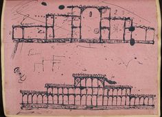 Facsimile of Paxton's Crystal Palace design, 1851. Courtesy of the British Library
