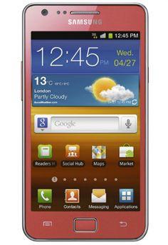 My next phone! Samsung Galaxy S2 - can't WAIT!!!