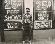 Bill Murray Live Nude Girls - 25 cents - Times Square in the 1980s The NewYorkologist: 1980s