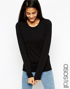 Enlarge ASOS TALL Long Sleeve Crew Top