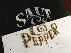 Inspiring Typography by Sam Lee