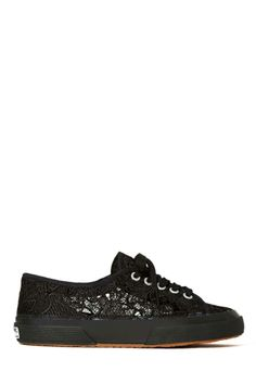 Superga Macramew Sneakers - Black