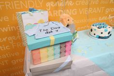 Cutest baby shower gift ever! We love our employees! #TheDogDidIt