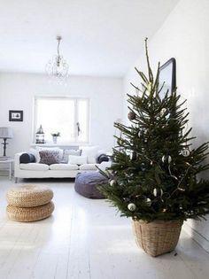 52 Small Christmas Tree Decor Ideas | ComfyDwelling.com