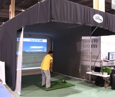 Golf Pro Analyzer available for corporate events.