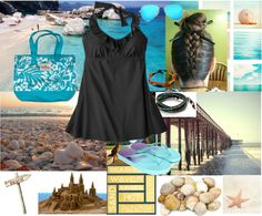 """""""RPO #14 - Beach #2"""" by sicariana ❤ liked on Polyvore"""