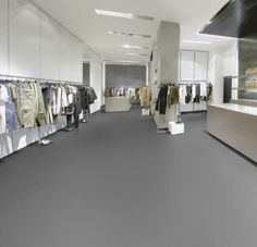 Forbo Walton uni marmoleum in the colour 186 lead. No marble, just plain classic grey.