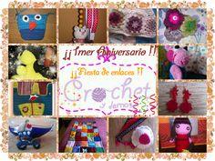 1mer Aniversario del blog | Mundo crochet