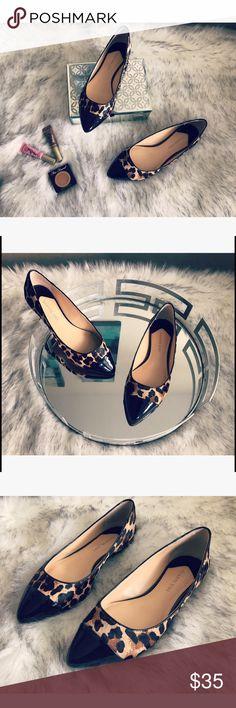 Weekend SALE ☀️🎀 Gianni Bini flats 🎀 💝 Gorgeous Gianni Bini flats in leopard print size 7.5 barely worn 💝 Gianni Bini Shoes Flats & Loafers