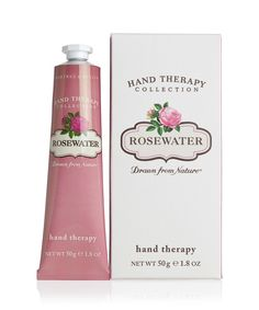 Crabtree & Evelyn Rosewater - Ultra-Moisturising Hand Therapy (Health and Beauty) Orange Blossom Water, Hand Care, Hand Lotion, Body Lotions, Rose Wedding, Health And Beauty, Perfume Bottles, Therapy, Fragrance