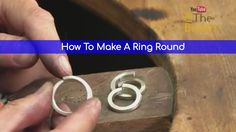 You Are Being Taught The Wrong Way! - How To Correctly Make A Ring Round