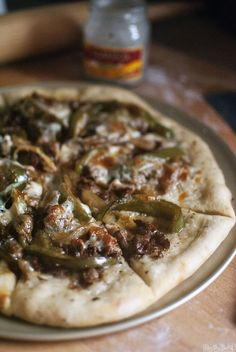 Making this tout de suite! Cheesesteak Pizza – Elevate Pizza Night