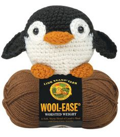 Amigurumi Penguin : Crocheting Accessories: Crocheting Projects: Shop | Joann.com    PENQUIN!! Okay making these for a few people