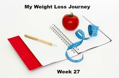 I started myweight loss journey 27 weeks ago. I didn't lose very much…