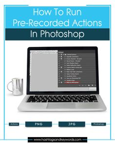 Creating actions in Photoshop is a real time saver especially when it comes to performing the same action on images in bulk. Photoshop Website, Photoshop Tips, Make Money Fast, Make Money From Home, Content Marketing, Affiliate Marketing, Media Marketing, Making Money On Youtube, Starting A Business