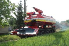 And now, a fire tank. - Imgur