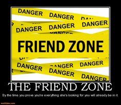 The dreaded friend zone