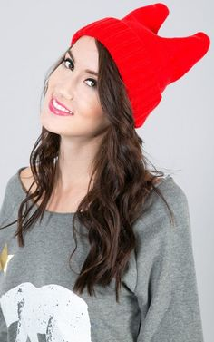 Cat Ears Beanie Fall Outfits, Cute Outfits, Cat Ears Headband, Vintage Hipster, Nerdy, Beanie, Clothes For Women, Chic, Womens Fashion