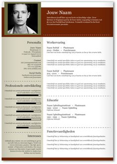 Cv Template, Resume Templates, Cv Design, Career Planning, Om, Marketing, How To Plan, Prints, Design Resume