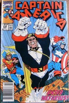 Captain America  #379 NOVEMBER 1990 Marvel Comics