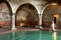 Rudas Thermal Baths - Only coed on Sat., Sun. & Fri. night - old Turkish Bath section and new Wellness section - Night Ticket (Fri. & Sat. 10pm to 4am) HUF 4,600 for both sections; Weekend Day Ticket (8am to 10pm) HUF 3,500 (Turkish Bath only) or HUF 5,700 (both sections).