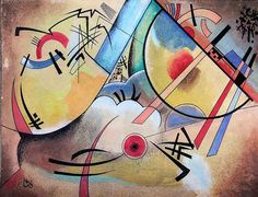 Wassily Wassilyevich Kandinsky (Russian,1866 - 1944) - 'Little Dream'