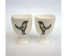 Love Birds Egg Cups