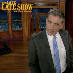 If you've never seen Craig Ferguson, you are missing out.  The man is hilarious!
