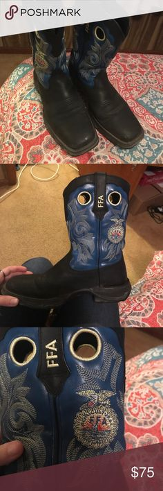 FFA Durango Boots In great condition!! Feel free to make an offer (: Durango Shoes