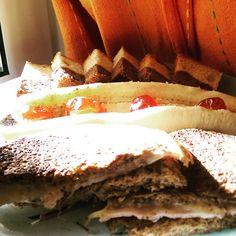 """Simple b'day #breakfast  #kaneipeina"" Tiramisu, Breakfast, Simple, Ethnic Recipes, Instagram Posts, Food, Morning Coffee, Essen, Meals"