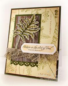 Stamps: Ferns and Fiddles  MakInk Studio
