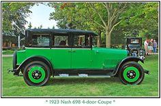 1923 Nash 698, 4-Door Coupe.