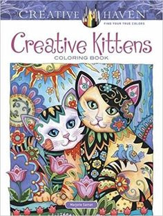 Amazon Creative Haven Kittens Coloring Book Adult 0800759812677