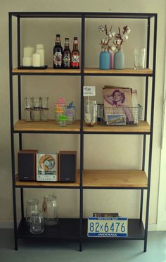 Ikea Hacker Network Cabinet, Ikea Hackers, Decoration, Shelving, Bookcase, House Design, Home Decor, Houses, Projects