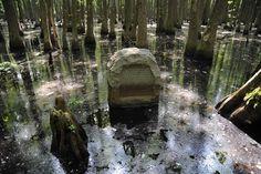 Louisiana purchase stone in Arkansas