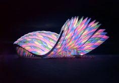 eVeil pavilion by Eduard Haiman, via Behance