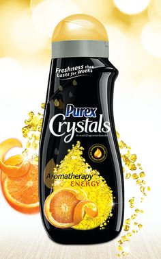 Purex Crystals Aromatherapy – Energy helps you tackle any day with the stimulating power of citrus.
