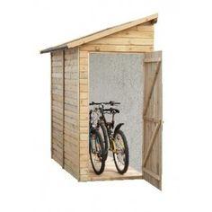 Abri jardin Adossable, vélo, 200 x 120 cm Ep 19 mm Madeira, AV1009