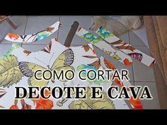 Tirando dúvida de como fazer o acabamento do decote e cava Alana Santos Blogger - YouTube