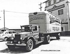 Yellow Freight seventy years ago | The Old Motor