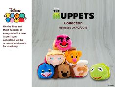 The Muppets Tsum Tsum Collection. Out October 4,2016