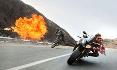 Mission Impossible: Rogue Nation -- Tom Cruise BMW
