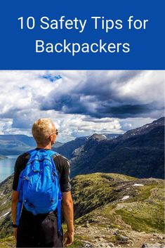 Here are 10 safety tips you can use when backpacking. #backpacking #hiking #fitness #outdoors #exercise Backpacking Tips, Hiking Tips, Packing Tips For Travel, Hiking Training, Ride The Lightning, Hiking Quotes, Travel Must Haves, Travel Alone, Safety Tips
