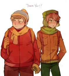 You better thank Cartman Kyle. He saved your life alot of times. Cuz he luvs u! :3