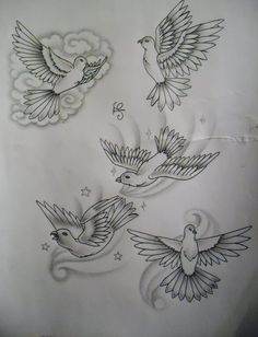 dove tattoos | Tattoosuzette On Deviantart - Free Download Tattoo #34985 Dove Tattoo ...