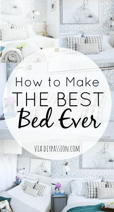 Making The Bed: Tips