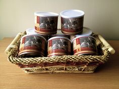 Ghanaian Hot Chocolate: A rich cup of cocoa flavors naturally dried under the African sun. Coffee Products, Wicker Baskets, Hot Chocolate, Cocoa, Picnic, African, Sun, The Originals, Home Decor